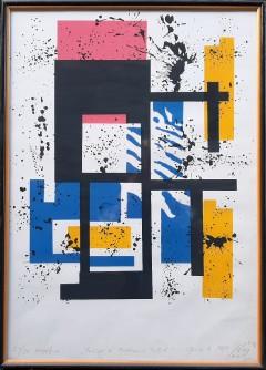 Homage a' Mondrian - Pollock