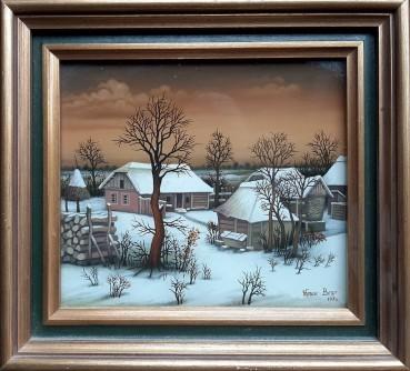 Zima u selu