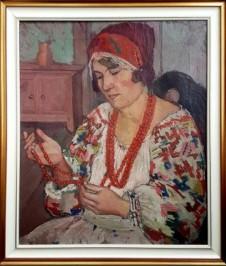 Djevojka sa crvenim perlama