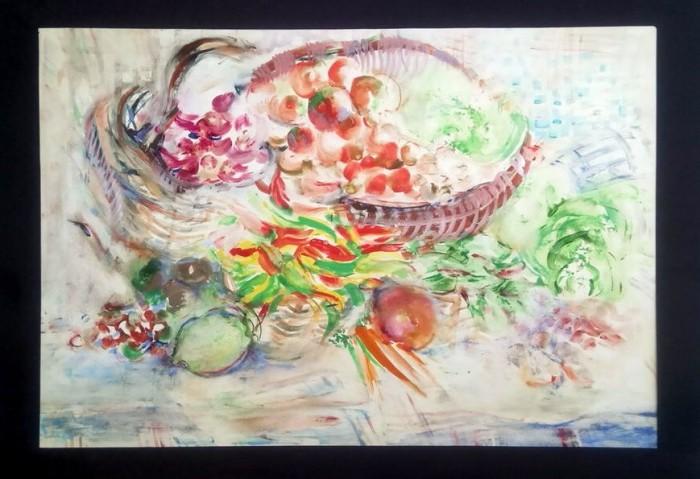 Mrtva priroda sa povrćem