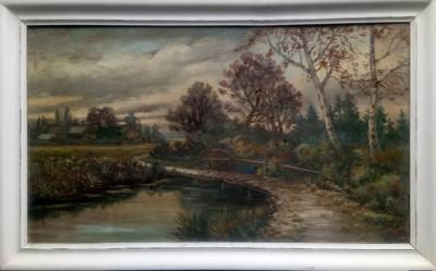 Krajolik sa potokom