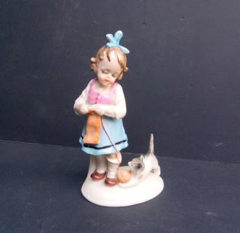 Djevojčica sa mačkom