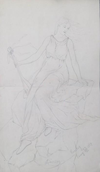 Djevojka sa lutnjom