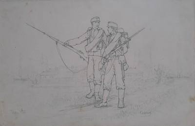 Dva vojnika