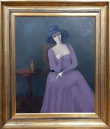 Dama u interijeru