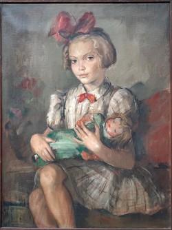 Djevojčica sa lutkom