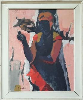 Žena sa crnom maskom