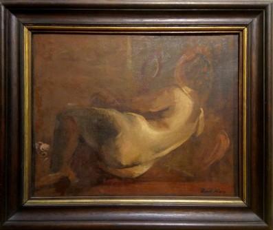 Ležeći ženski akt