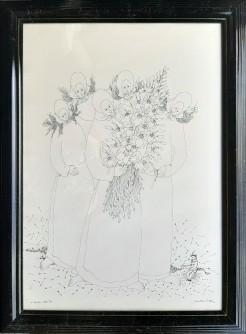 Djevojke sa cvijećem