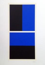 Crno-plava kompozicija