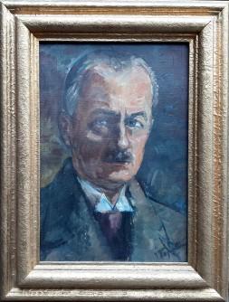 Portret muškarca sa brkovima