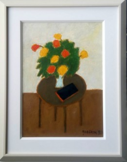 Interijer sa cvijećem