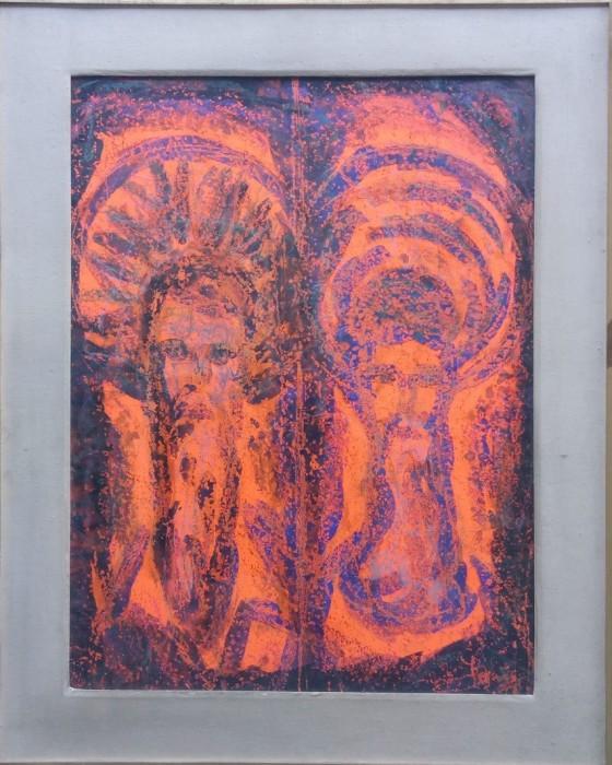 Stara ikona (sv. Vlaho i sv. Nikola)