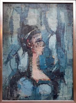 Žena u plavom