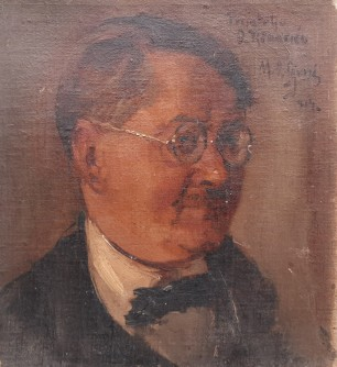Portret slikara Dragutina Renarića