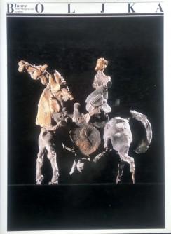 Janez Boljka, Skulptur und Graphik