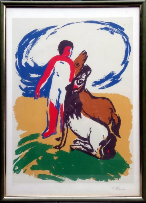 Dječak sa konjima