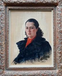 Portret supruge Štefanije Marčić