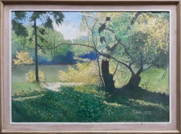 Jezero u Maksimiru