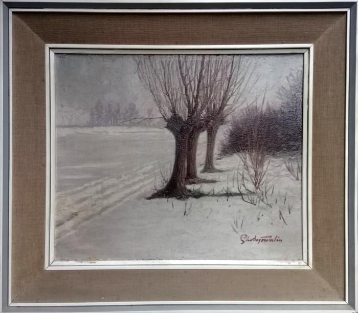 Vrbe u snijegu