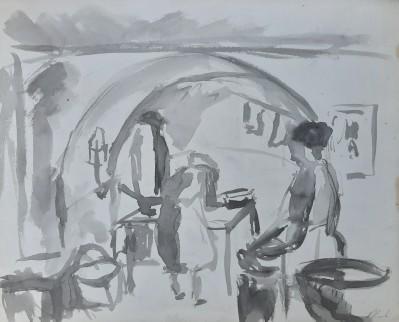 Motiv iz stare kuhinje