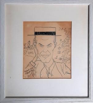 Portret knjiženika Gustava Krkleca