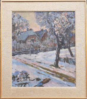 Zima u zagrebačkoj Dubravi