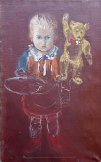 Dijete i medvjedić