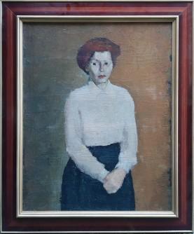 Dama u bijeloj košulji