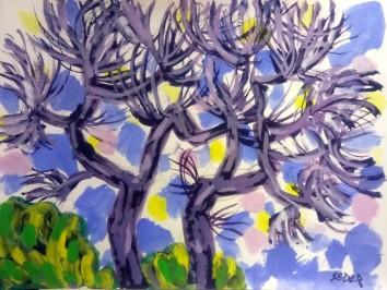 Krajolik sa drvećem