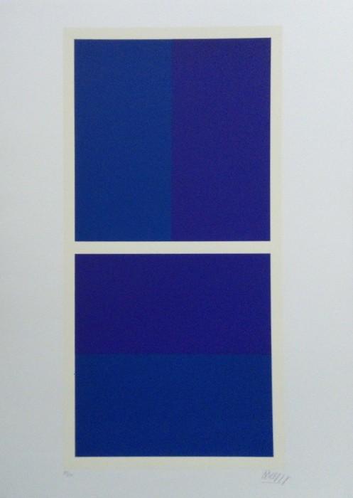 Plavo-ljubičasta kompozicija