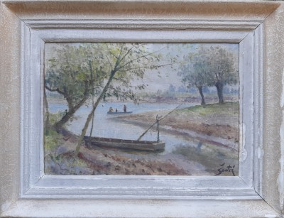Na riječnom rukavcu